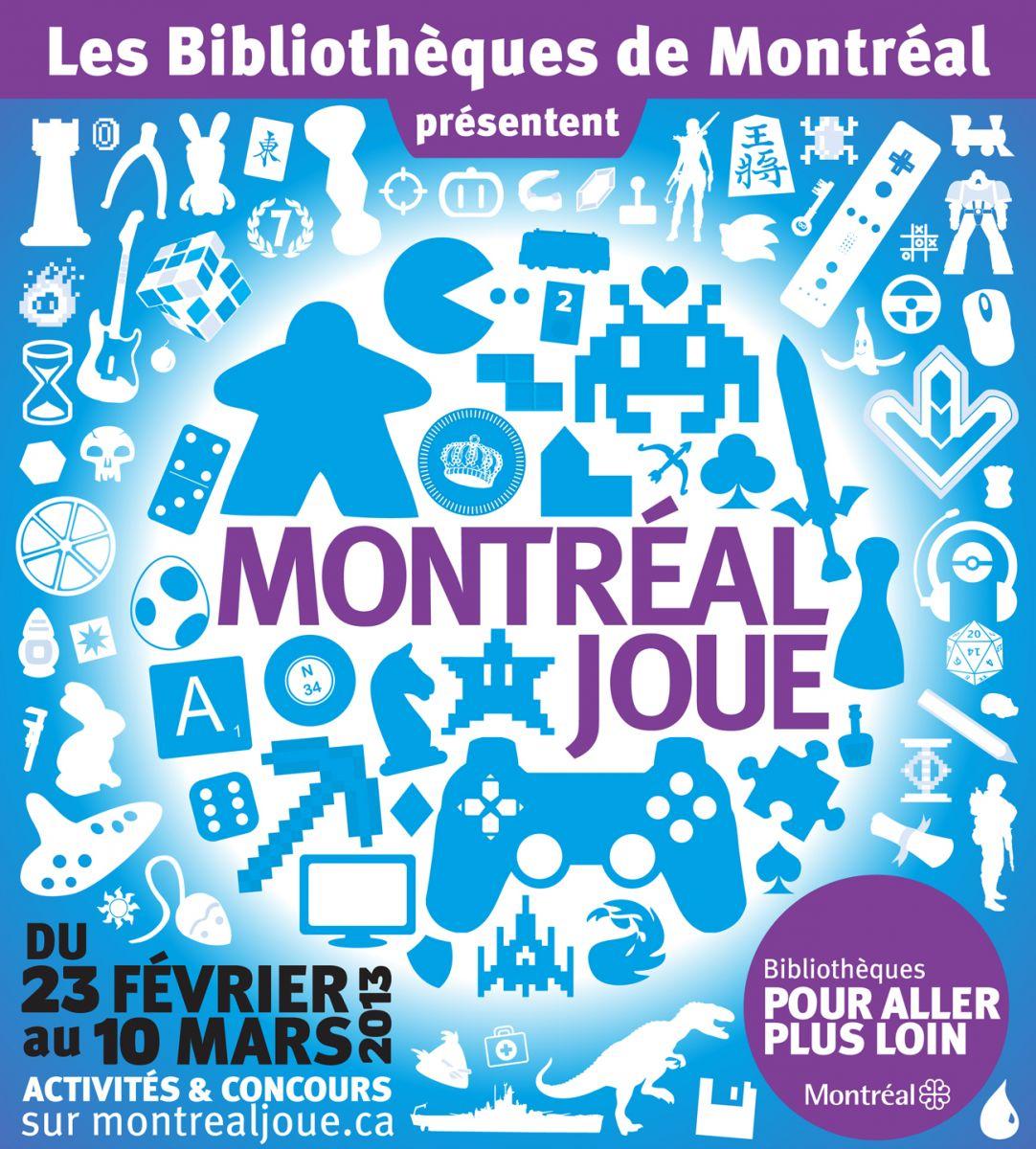 Affiche Montréal joue
